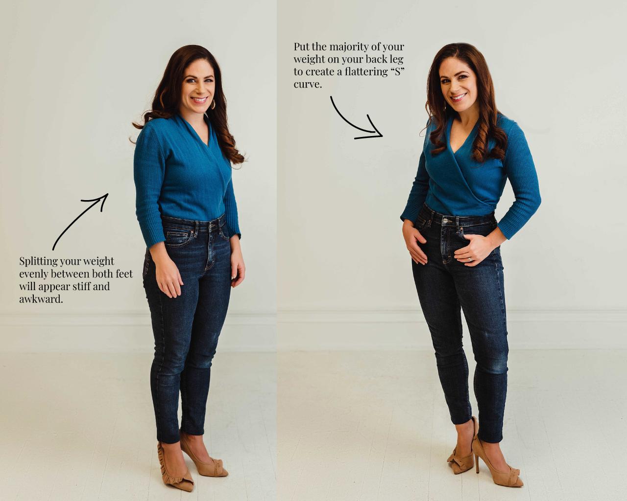 Look Better in Photos - 7 Posing Tips