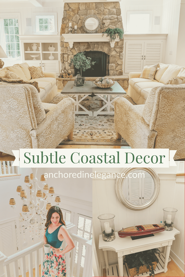 subtle coastal decor